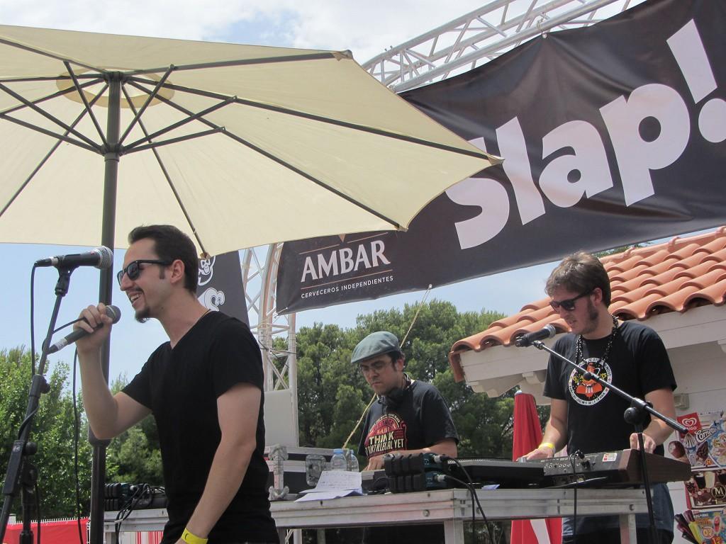 El Slap Festival inunda el camping de Zaragoza de música y actividades para toda la familia