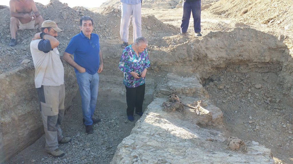 Localizados en una fosa común en Velilla de Jiloca los cuerpos de dos asesinados por el franquismo