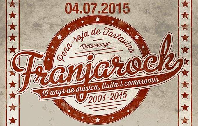 O XV Franjarock se celebra o 4 de chulio en Penyarroya de Tastavins