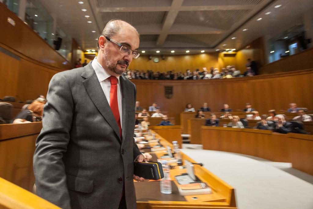 """Lambán defenderá una """"gestión alejada del inmovilismo"""" y """"condicionada por la falta de financiación"""""""
