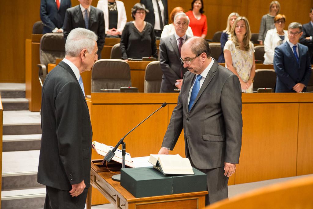 El discurso de Javier Lambán abrirá este jueves el Debate de Investidura de la IX Legislatura