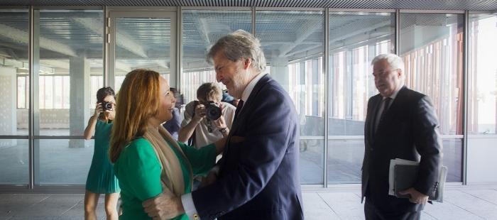 La consejera de Educación traslada al ministro español la oposición frontal del Gobierno de Aragón a la LOMCE