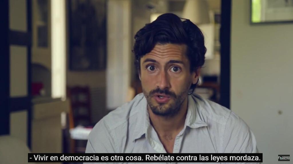 """""""Vivir en democracia, depende de tí. Rebélate contra las Leyes Mordaza"""""""