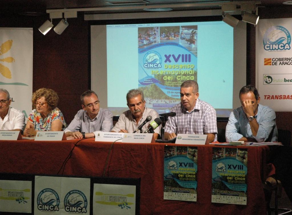 Presentación oficial del XVIII Descenso Internacional del Cinca