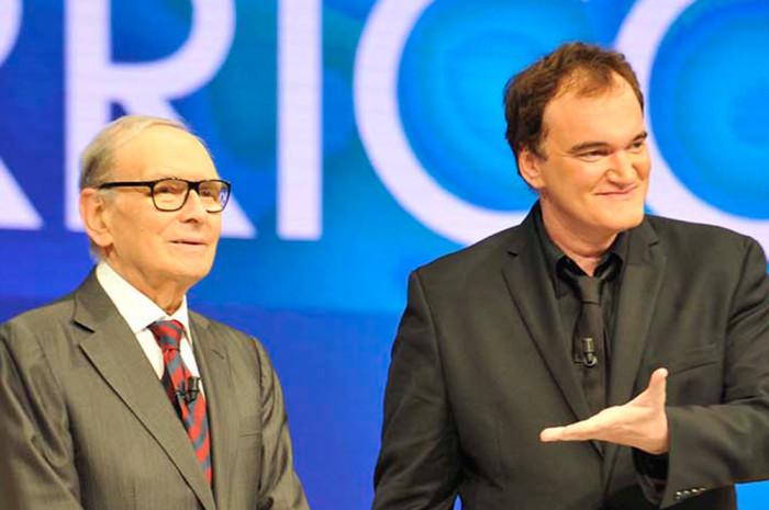 Ennio Morricone pondrá la banda sonora a la nueva cinta de Tarantino, el western 'The Hateful Eight'