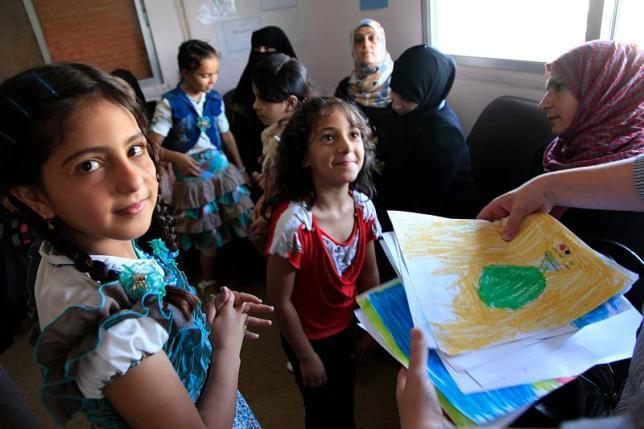 Más de 3,5 millones de niños y niñas refugiadas no van al colegio