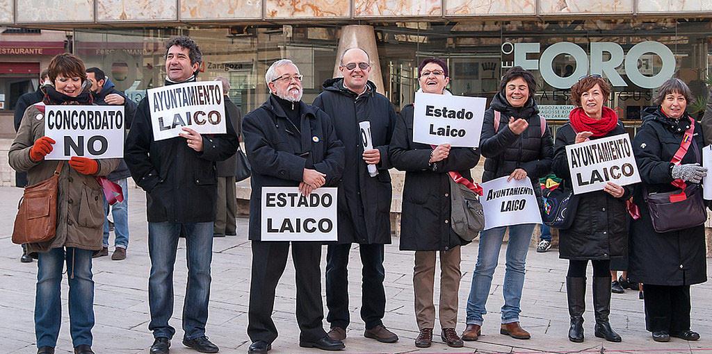 MHUEL muestra su satisfacción por la suspensión del convenio entre el Ayuntamiento de Zaragoza y el capellán de Bomberos