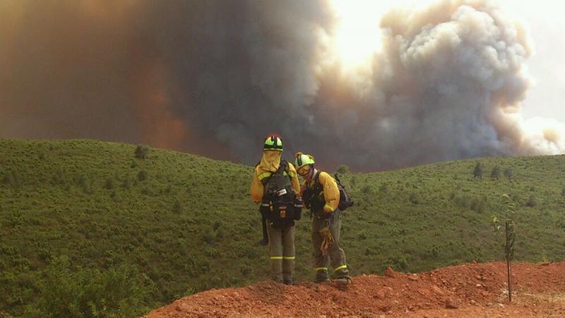 Puyalón exige a la DGA que cumpla la Ley de Montes dando estabilidad a la plantilla contraincendios