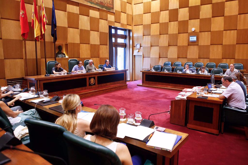 Cubero marca la defensa del empleo público en los objetivos del Área de Servicios Públicos y Personal del Ayuntamiento de Zaragoza