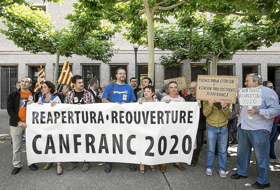 Reapertura del Canfranc: La lucha continúa