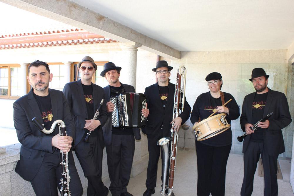 Cuarteto Caramuxo interpretará su música tradicional galega con aire festivo y una cuidada puesta en escena