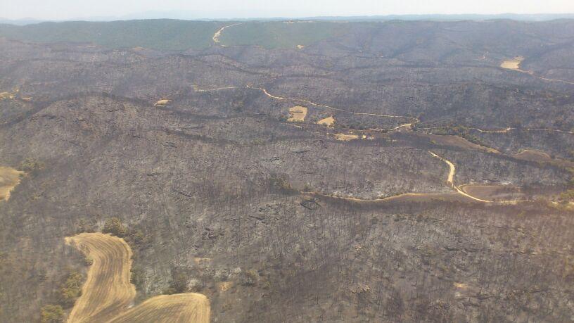El incendio de Luna: La historia de una catástrofe contada por las BRIF