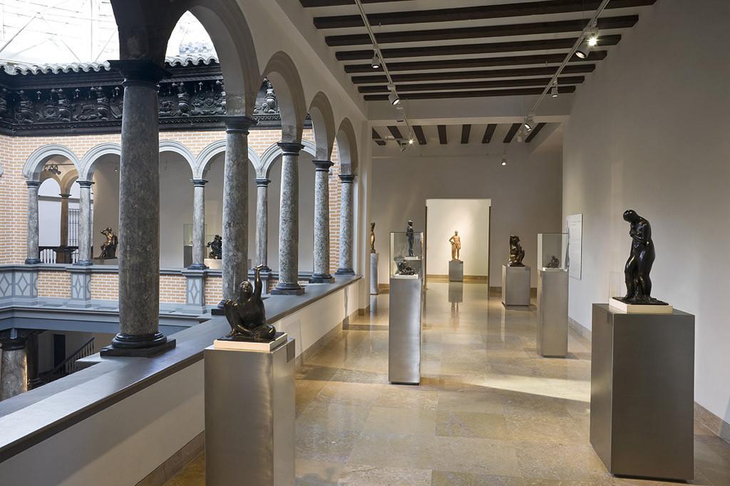 Este jueves se cierra al público el Museo Pablo Gargallo con motivo del rodaje de la película Miau