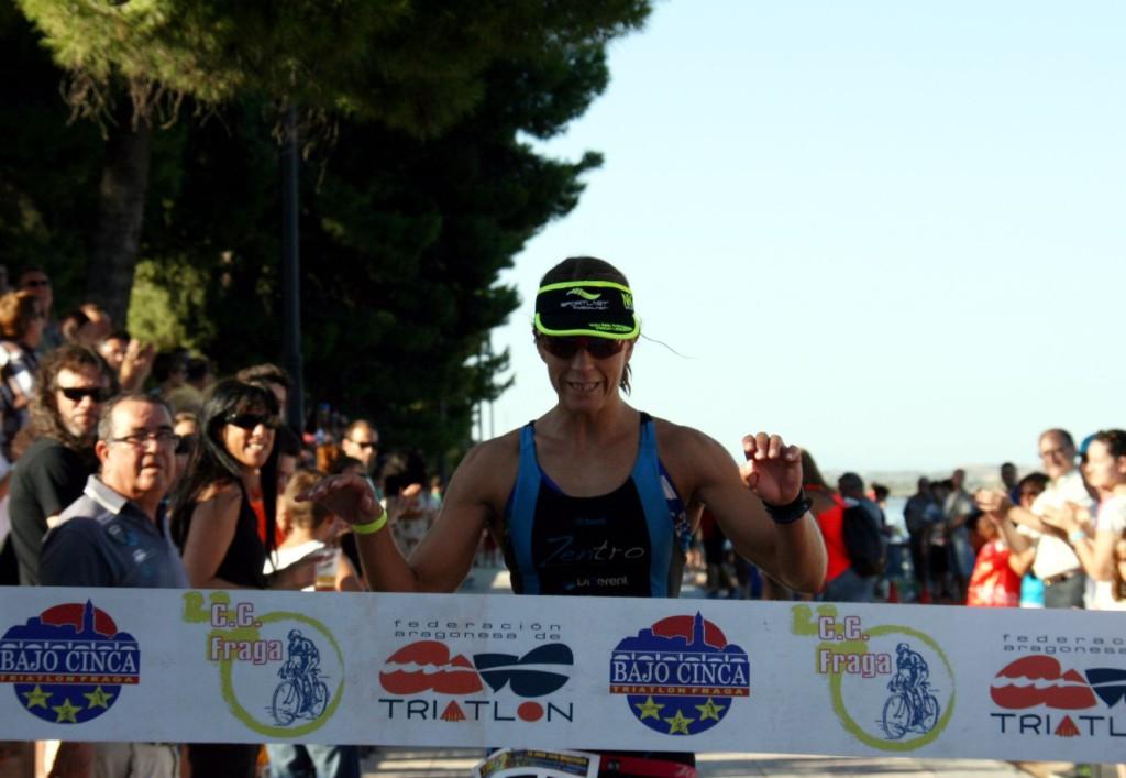 Albert Reig y Chus Til ganan el II Triatlón 'Villa de Mequinenza – Tri La Mina'
