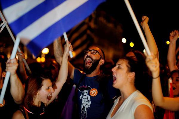 Grecia dice OXI con rotundidad