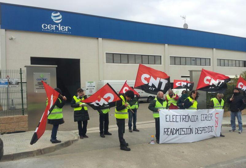 Electrónica Cerler retira la modificación sustancial de condiciones laborales a las trabajadoras