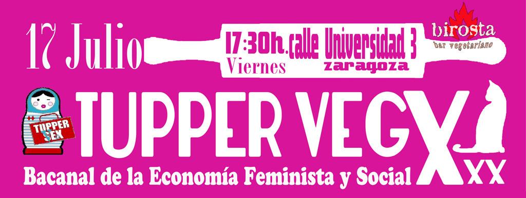 """Birosta y Desmontando a la Pili organizan un """"Tapeo Tupper Vegx"""""""