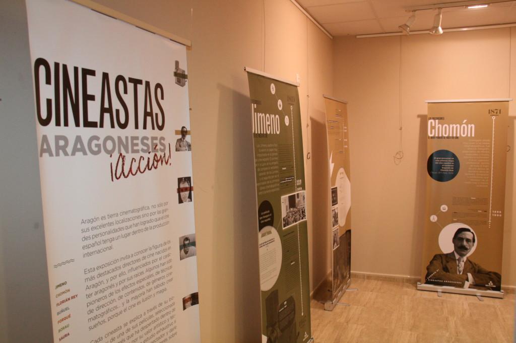La Sala Miguel Ibarz de Mequinensa acoge la exposición «Cineastas aragoneses»