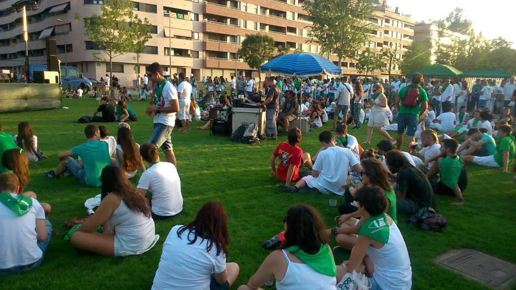 Gran asistencia de público en el #NoToroFest de Uesca