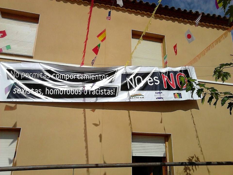 """Comienza en La Llitera la campaña """"No es No"""" contra las agresiones sexistas"""