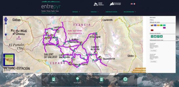 Entrepyr.eu, una buena herramienta para planificar tus travesías transfronterizas