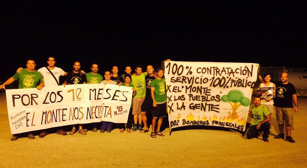 Los trabajadores y trabajadoras de Sarga continúan con sus movilizaciones