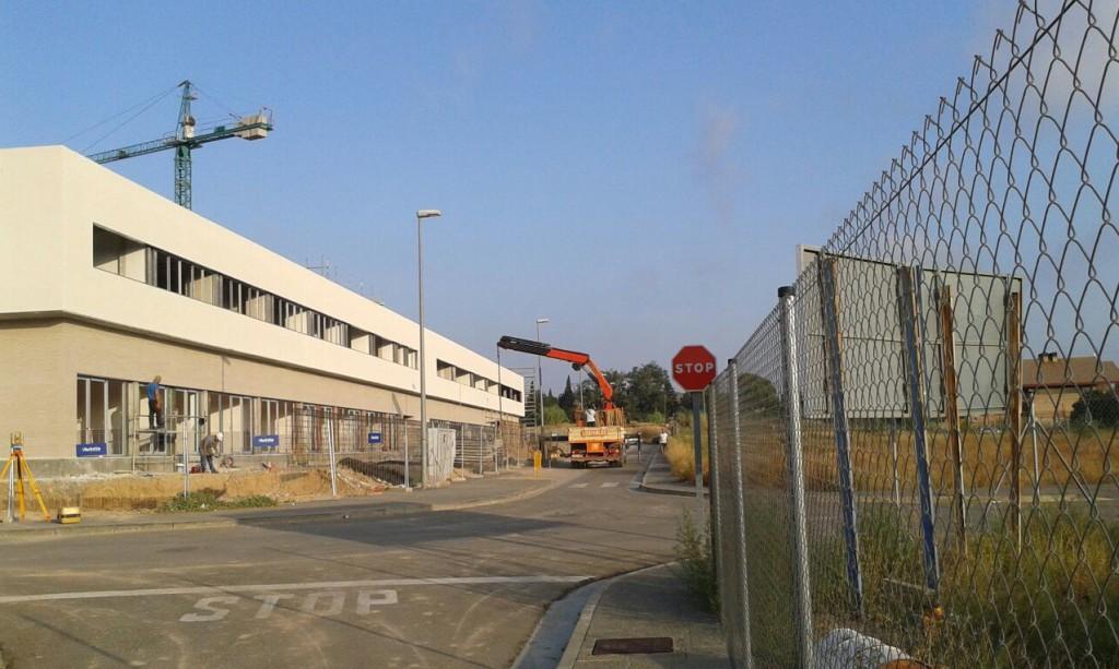 Denuncian el incumplimiento de las ordenanzas en la construcción del nuevo colegio de Cuarte de Huerva