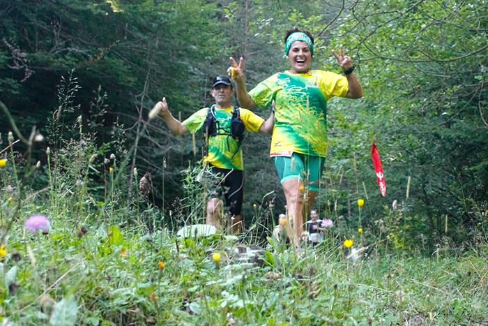 Marián Zapico y Daniel Osanz, los más rápidos en el 'Paso del Onso'