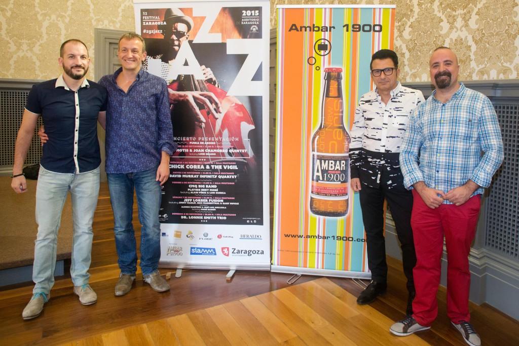 El Festival de Jazz llega a Zaragoza con un programa de altísima calidad