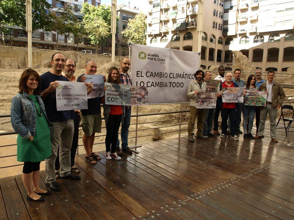 Alianza por el Clima anima a la ciudadanía a actuar por la Tierra y demanda a los grupos políticos mayor ambición climática