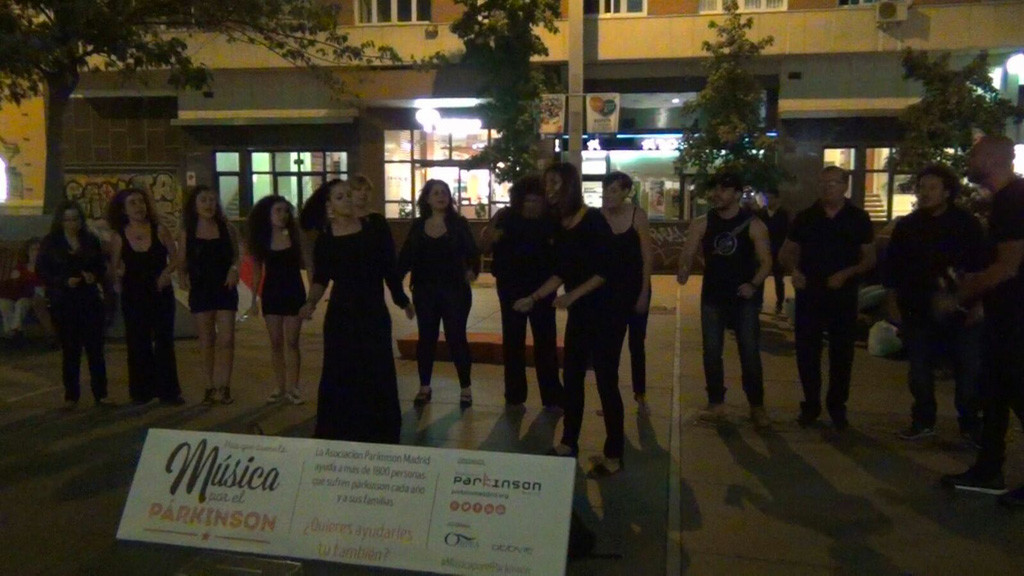 Música por el párkinson en Madrid