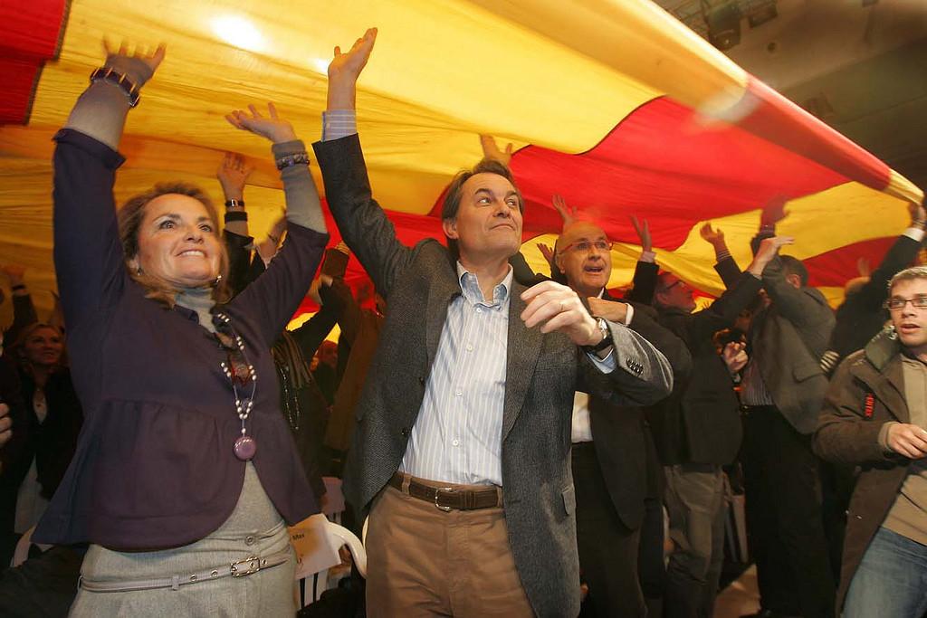 El TSJC cita a declarar como imputados a Artur Mas, Joana Ortega e Irene Rigau por la consulta del 9N