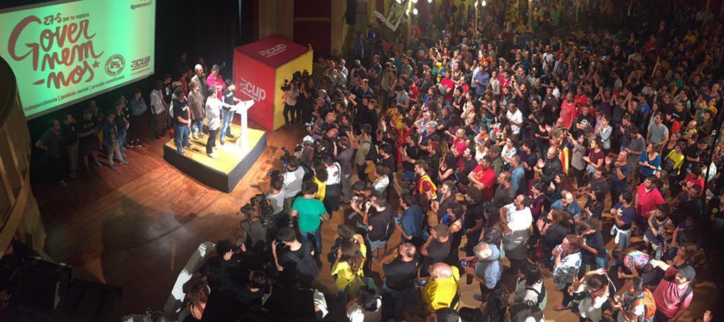 Mayoría absoluta de las formaciones independentistas en Catalunya con récord de participación