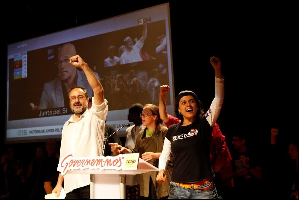 """La CUP no apoyará la investidura de Mas porque quiere evitar """"recortes y austeridad"""""""