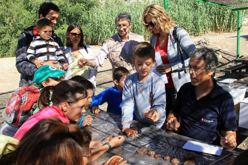 Cientos de personas disfrutaron y aprendieron en el Día del Galacho de Juslibol