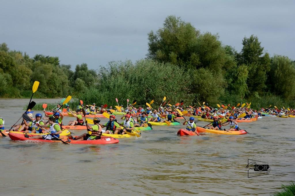 Los ríos Sella y Cinca se hermanan a través de sus dos pruebas de piragüismo más emblemáticas