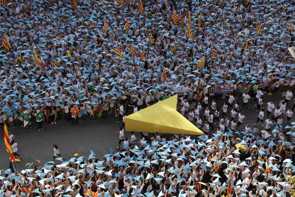 """La Guardia Civil incluye las Diadas desde 2013 en su investigación contra el procés por """"rebelión"""""""