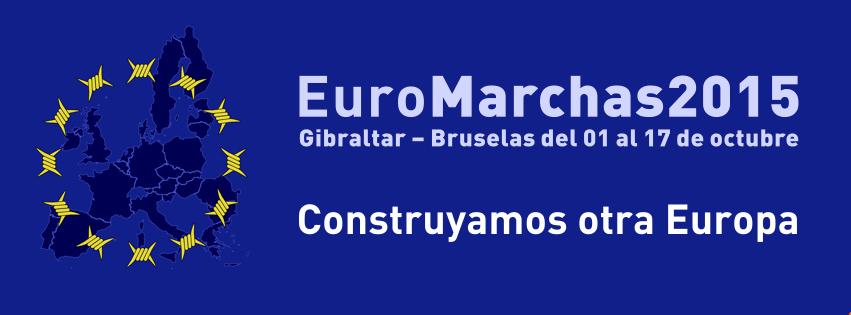 Las Euromarchas calientan motores para partir rumbo a Bruselas