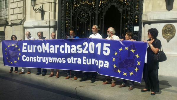 La Euromarcha contra la austeridad y la Troika llega a Zaragoza