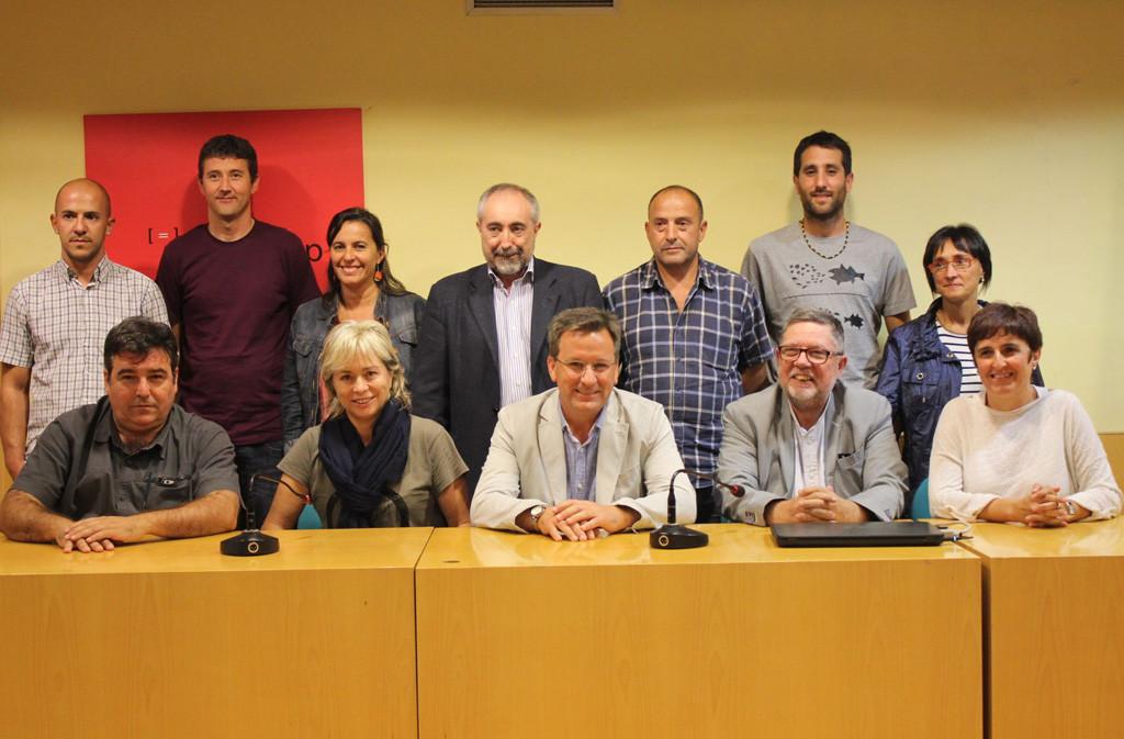 Diversas organizaciones políticas firman una declaración en la que reclaman respeto a las decisiones del Pueblo catalán