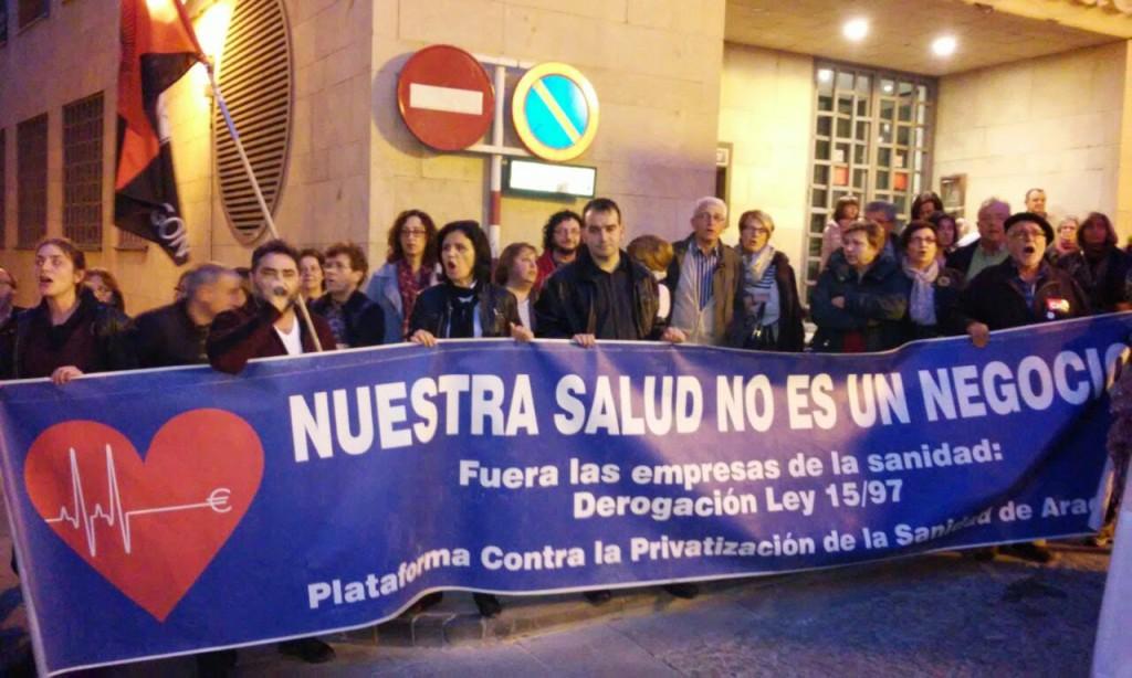Sancionados dos trabajadores del SALUD por realizar actividades reivindicativas