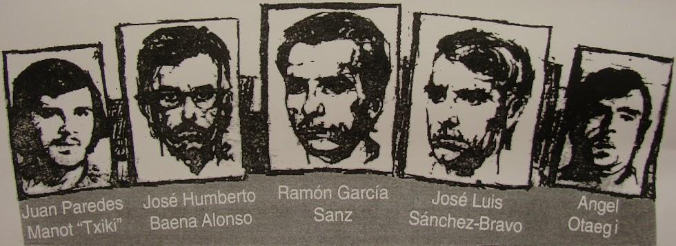 Varios actos recuerdan a los últimos fusilados por Franco