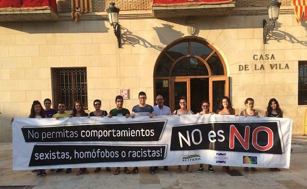 """IU muestra su total apoyo a la campaña """"No es No"""" del Colectivo por la Igualdad de La Llitera"""