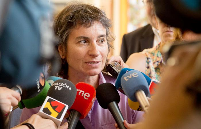 """Broto: """"El compromiso del Ayuntamiento de Zaragoza con la población palestina sigue siendo firme"""""""