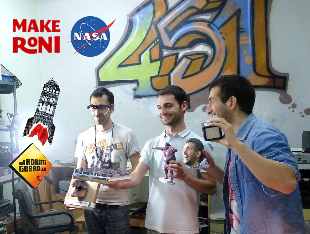 Makeroni, una asociación cultural de Zaragoza, puntera en inventiva con dispositivos electrónicos