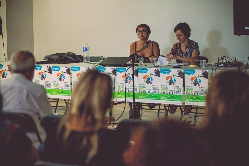 Escucha las microcharlas de la VI Feria de Mercado Social Aragón