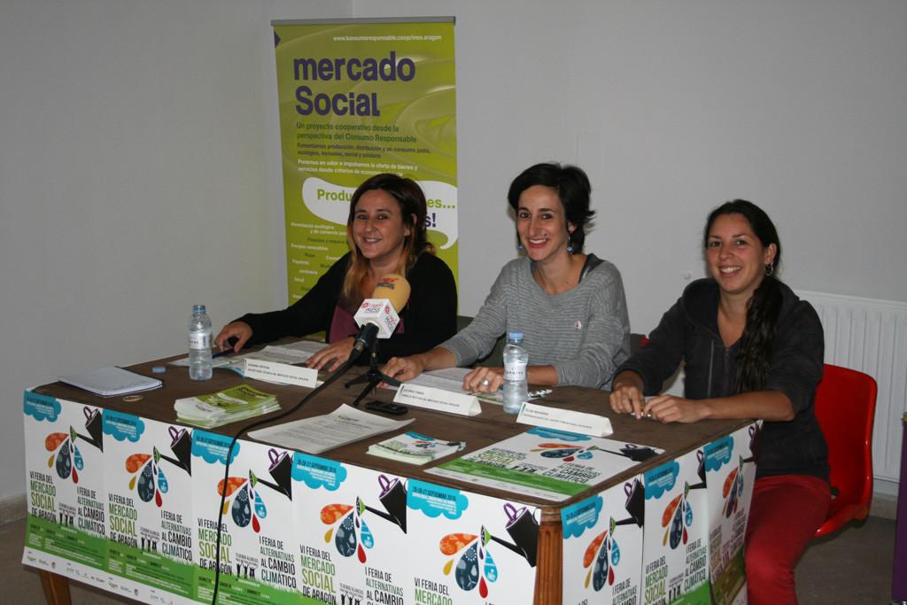 La otra economía saca músculo: 65 entidades participan en la VI Feria del Mercado Social de Aragón