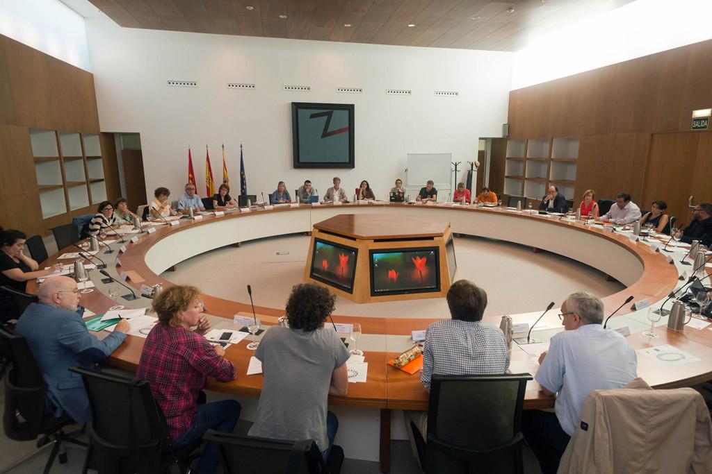 La nueva Corporación municipal de Zaragoza celebra el primer Consejo de la Ciudad