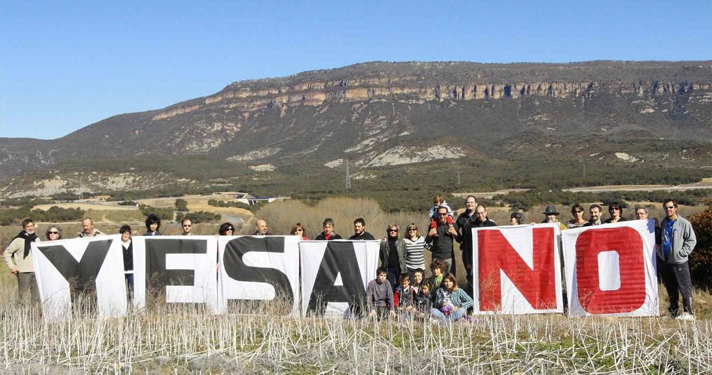 CHA denuncia las gravísimas afecciones al municipio de Sigüés por las obras de recrecimiento de Yesa
