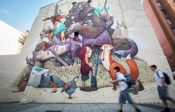 Los vecinos y vecinas de Oliver, protagonistas del Festival de arte urbano Asalto